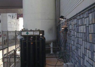 deposito de nitrogeno